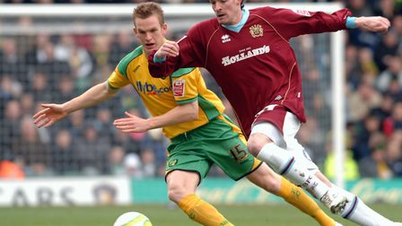 Alex Pearce was brought to Carrow Road from Reading by Glenn Roeder. Picture: Archant