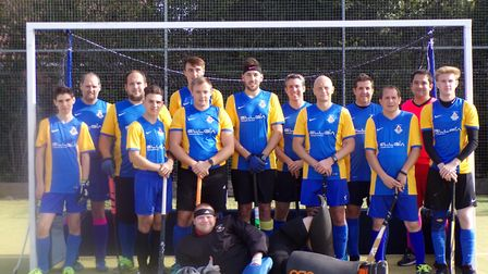 Thetford, who play in Division 4E of the East League, line up for the camera Picture: CLUB