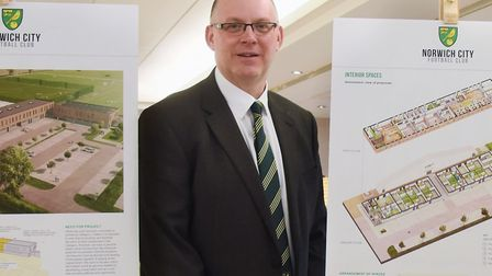 Steve Stone at the launch of Norwich City's academy bond earlier this year Picture: DENISE BRADLEY