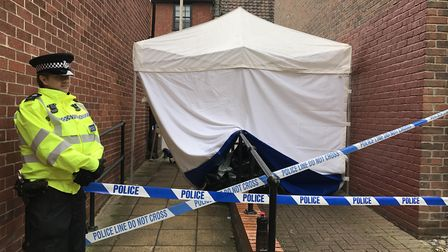The body of a man was found in an alleyway leading to Murrell's Court near King Street in August. Pi