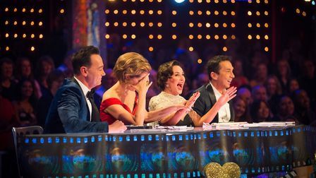 Strictly judges - (C) BBC - Photographer: Guy Levy