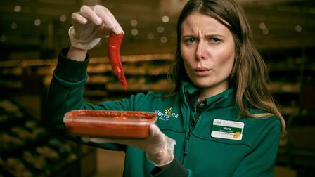 """Morrisons has launced a new """"fiery"""" curry. Photo: Mikael Buck/Morrisons"""