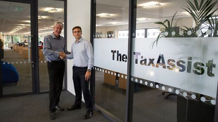 From left: Karl Sandall, TaxAssist Group Chief Executive and Daren Moore, TaxAssist Group Commercial