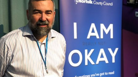 A multi-agency learning event into preventing suicide in Norfolk. Dr Richard Gorrod, who chaired the