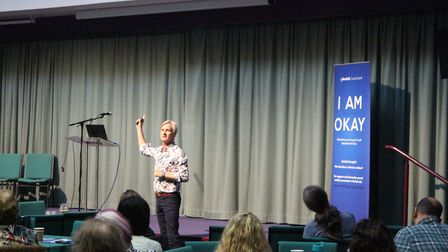 A multi-agency learning event into preventing suicide in Norfolk. Professor Rory O'Conner. Photo: No