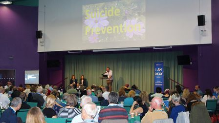 A multi-agency learning event into preventing suicide in Norfolk. Photo: Norfolk County Council