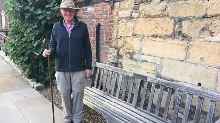 James Bagge walked 1500 miles for unpaid carers in Norfolk. Photo: Emily Prince