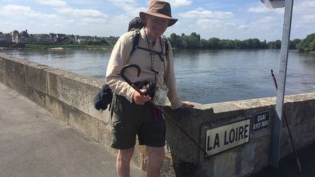 Crossing the Loire. Picture: Twitter/James Bagge