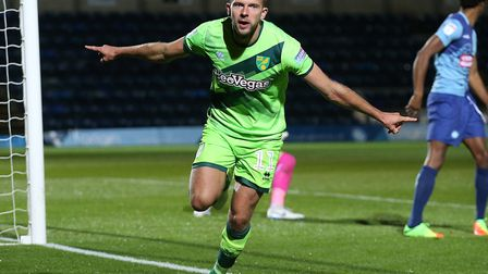 Jordan Rhodes scored a Carabao Cup hat-trick at Wycombe Picture: Paul Chesterton/Focus Images