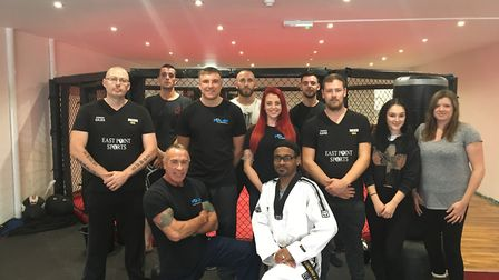 Ruckus MMA and Fitness Gym, Lowestoft. Photo: James Carr.