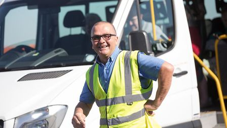 NNCT driver Vic Evans will get a 'Big Surprise' on national TV. Pictures: National Lottery