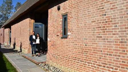 The owners of Church Barn, Sue and Simon Wiseman, in East Ruston. Photo: NNDC