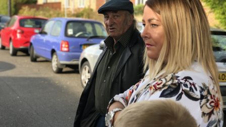 Residents have spoken of their dismay after their road was left off of a roll-out of parking permits