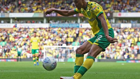 Jamal Lewis has made a seamless transition to the Norwich first team Picture: Paul Chesterton/Focus