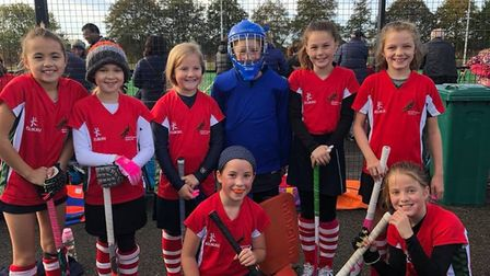 Norwich Dragons Hockey Club hosted their annual Under-10 and Under-12 tournaments on Sunday with tea