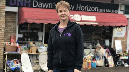 Lorraine Saunders, founder of Dawn's New Horizon on Cannerby Lane, Sprowston which offers support an