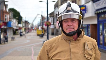 Norfolks chief fire officer. PICTURE: ANTONY KELLY