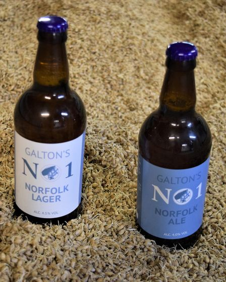 Galton Blackiston has created two new beers. Pictures: Frances Brace