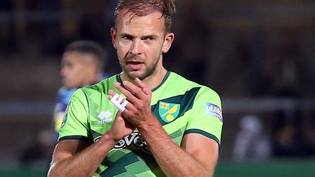 Jordan Rhodes is in line to replace injured first choice striker Teemu Pukki Picture: Paul Chesterto