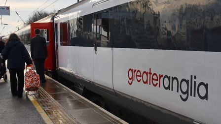 Greater Anglia services faced disruption after track safety inspections. Picture: Sonya Duncan