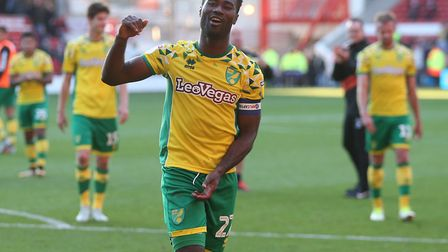 The Norwich City captain's armband continues to bring the best out of Alex Tettey, as he helps lead