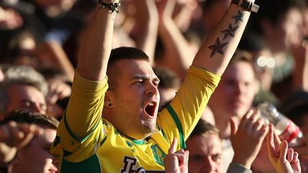 The traveling Norwich City fans enjoyed themselves at the City Ground - but they may have to expect