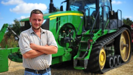 Fenland farmer Neill Craig has more than 7,000 followers on Instagram. Picture: Harry Rutter