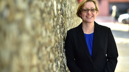 Dr Louise Smith, Norfolk County Council's new director for Public Health.Picture: ANTONY KELLY