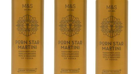 Porn Star Martinis are being sold at Marks and Spencer. Photo: Marks and Spencer.