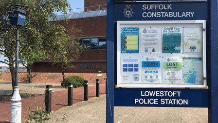 The missing items are at Lowestoft Police Station. Picture: Conor Matchett