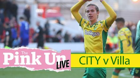 Follow full live coverage as Norwich City aim to maintain their current form when Aston Villa visit