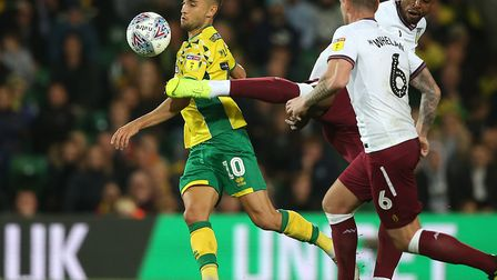 Moritz Leitner was in fine form for the Canaries against Villa Picture: Paul Chesterton/Focus Images