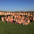 CoNAC's cross country squad Picture: Peter Mahoney