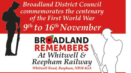 An exhibition will be part of a week-long series of events in Broadland to mark the centenary of the