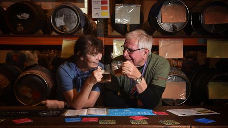The 40th Norwich Beer Festival. Picture: ANTONY KELLY