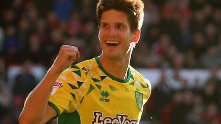 Timm Klose has been nominated for the Sky Bet Championship Player of the Month award for October Pic