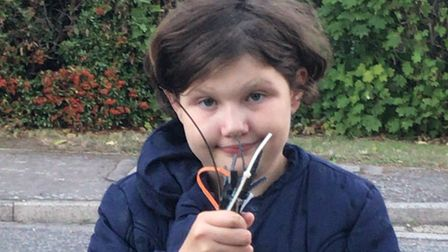 Paige Taylor, 11, has been found safe and well. Picture: Norfolk Police