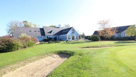 The clubhouse at Richmond Park golf club. Pic: www.attikpropertyservices.co.uk
