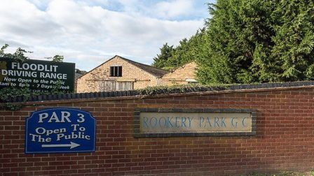 Rookery Farm barns at the entrance to Rookery Park golf club. Pic: www.brown-co.com