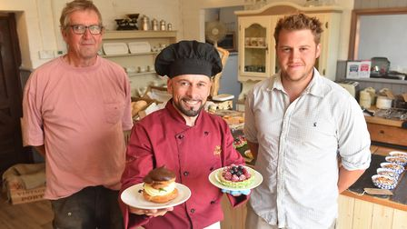 EAT Norfolk. Feature on Teles Patisserie at Yare Valley Farm, Surlingham.Joaquim Teles.Picture: Nick