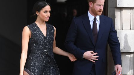 Prince Harry and Meghan Markle in April 2018. Picture: PA Wire/PA Images