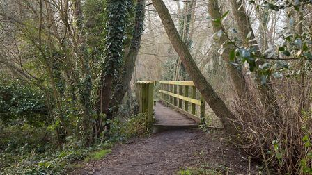 A photo of Mariott's Way. A new footpath could be created on the Thorpe Marriott estate, linking to