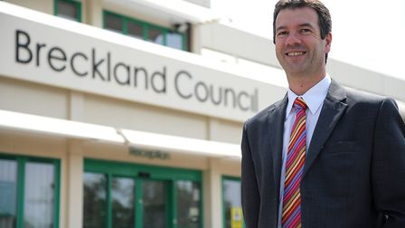 Leader of Breckland Council and chair of the cabinet which made the decision William Nunn. Picture: