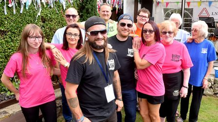 CARLFest 2018 event organisers at the Mariners Rest pub in Lowestoft. The Care And Real Lovin Charit