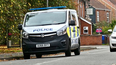 Police were called to Cowgate in Norwich shortly before 1pm today (24 October) following reports of