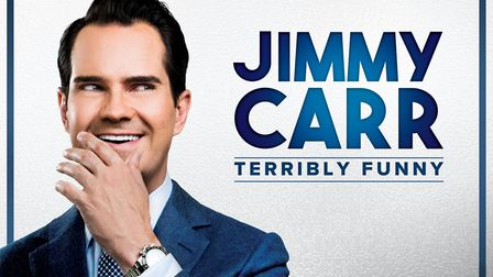 Jimmy Carr will embark on his newTerribly Funny UK tour in 2019/20, with a performance at the Marina