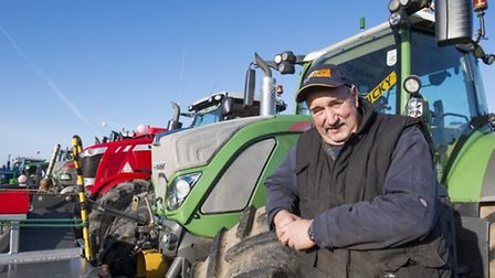 Organiser of the tractor run Philip Page. Picture: Nick Butcher