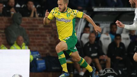 Teemu Pukki is back in light training for Norwich City following a hamstring injury Picture Paul Che