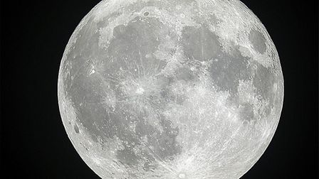The Hunter's Moon photographed by Tony Moss