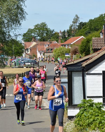 The Humpty Dumpty 10K in Freethorpe - part of the Sportlink-backed Grand Prix Series Photo: Paul Mar